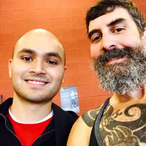 Me and my amazing trainer Amad Sidddiquee. To be successful in reaching your weight loss goals, it's critical that you have a strong bond and level of trust with your trainer. With Amad, I am honored to call him my friend.