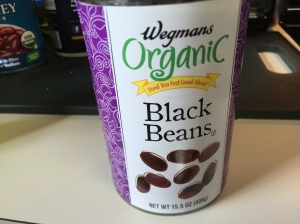 I'm using organic beans in this recipe. They aren't hard to find in your local grocery.