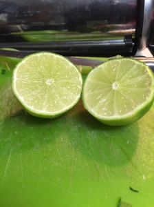 Nothing like juice from a fresh lime to brighten the taste of the sald (you're cheating yourself if you use bottled juice)