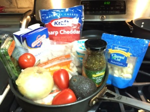 Here is what you'll need to prepare the chicken verde enchiladas