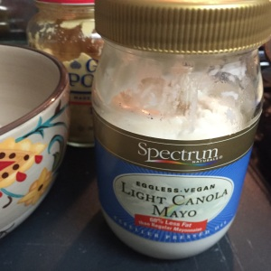 Here is the canola mayonnaise that I use.