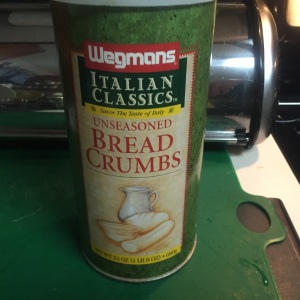 Always useful to have a container of dry bread crumbs in your pantry.