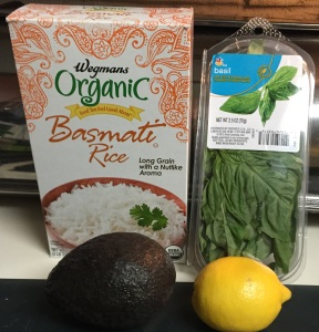 These are the primary ingredients you'll need to prepare the Green Goddess Rice recipe.