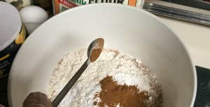 ...with half a tsp. of cinnamon required...