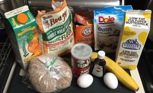These are the main ingredients you'll need to prepare this tasty whole grain bran muffin recipe.