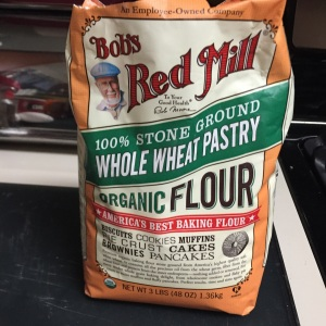This is the whole wheat pastry flour I found at the grocery store.