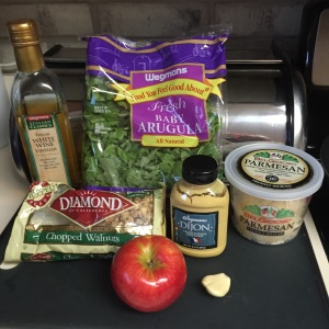 These are the main ingredients to pull together this salad recipe.