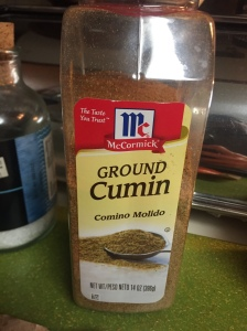 Love the addition of cumin in most of my meals!